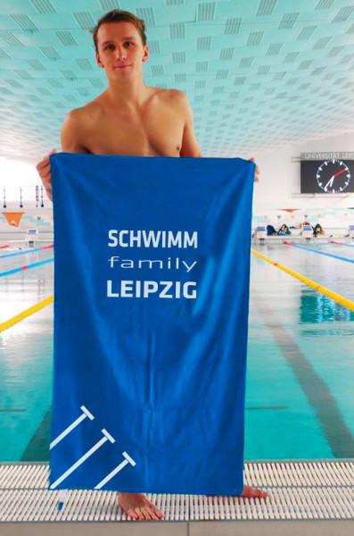 Schwimm-Family Leipzig | Mikrofaser Handtuch