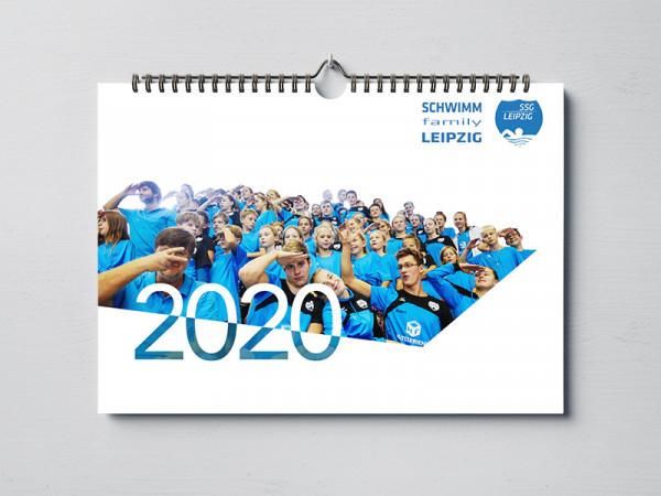 Neu! Der Schwimm-Family Leipzig Kalender 2020