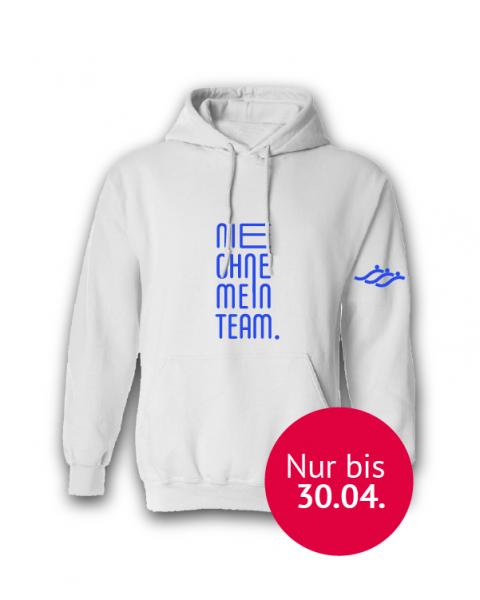"""""""Nie ohne mein Team"""" Hoodie   SSG Braunschweig"""
