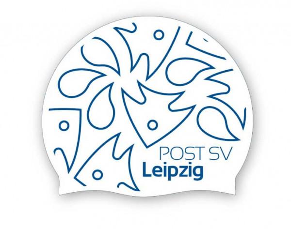 Team Badekappe weiß | Post SV Leipzig
