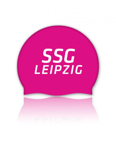 Team Badekappe pink | SSG Leipzig